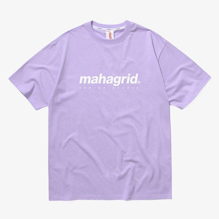 【QUEST】現貨 MAHAGRID MGD BASIC LOGO TEE 基本LOGO 上衣 短踢 紫色