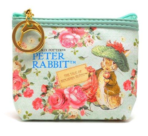 彼得兔零錢包--日本帶回peter rabbit 彼得兔鑰匙圈零錢包--班傑明--秘密花園