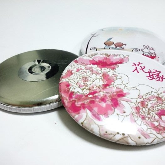 【轉印王】58mm磁鐵 胸章 陶瓷吸水杯墊 個性化客製化 婚禮小物 生日 彌月禮 情人節 馬克杯 喜帖 婚卡 謝卡 う