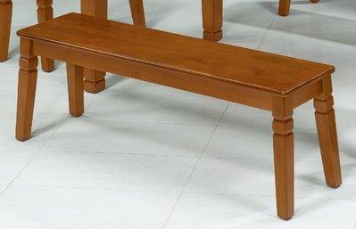 【浪漫滿屋家具】(Gp)603-16 長板凳(單只)(柚木色)