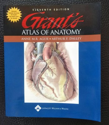 Grant's Atlas of Anatomy LWW ARTHUR F. DALLEY 9780781742559