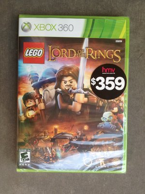 LEGO The Lord of the Rings xbox360 xbox 360 game (全新)