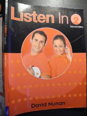 Listen In 2   David Nunan│THOMSON│編號:RH