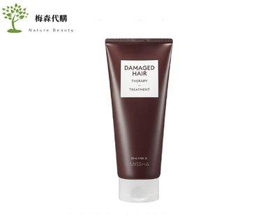 【梅森代購】韓國 MISSHA 受損髮質 護髮素 Damaged Hair 200ml