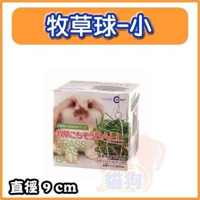 **貓狗大王**Canary 兔專用牧草球餵食牧草球/牧草架/可懸掛、附鍊子/玩具 特價119元---小的