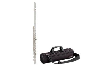 【現代樂器】現貨!Yamaha Flute YFL-272 長笛 開孔 加e鍵 ( 271後繼機種 )YFL272
