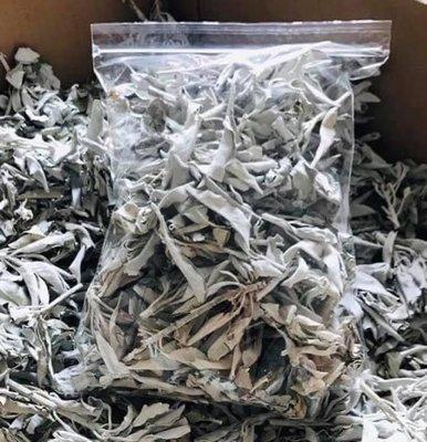 白色鼠尾草小包