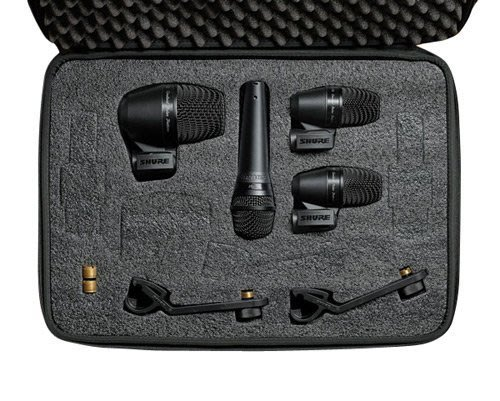 【六絃樂器】全新 Shure PGADrumKIT4 鼓組收音麥克風套裝 新麗聲公司貨 / 舞台音響設備 專業音響器材
