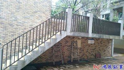 HC鴻展鋁門窗-鋁格柵欄杆~陽台凸窗店...