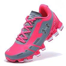 D-BOX  Under Armour UA Scorpio 運動休閒 戶外 跑步鞋 女款 灰桃紅