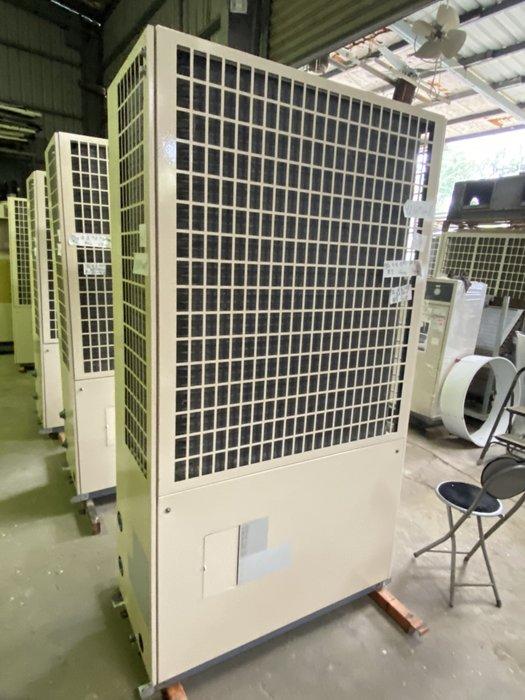 (大台北)中古日立7.5RT氣冷冰水機3φ380V(編號:HI1091008)~冷氣空調拆除回收買賣出租~