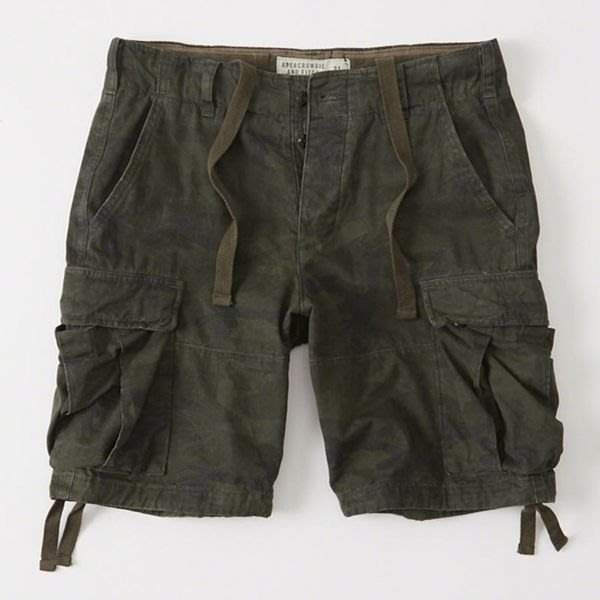 Abercrombie & Fitch 工作褲 128-283-0683-378 全新真品 HCO AF