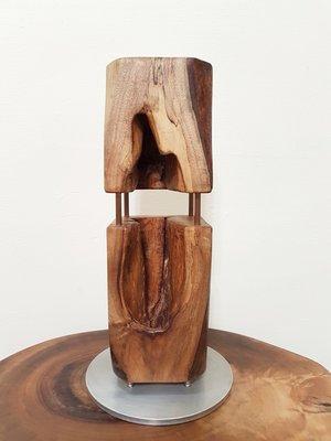 原木創作☆實木樟木天然鏤空藝品▪擺件▪手工