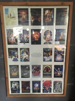 Star Wars 電影全系列 海報