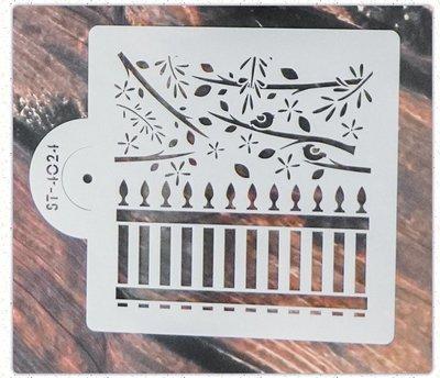 型染版SCP-6096~蝶古巴特 餐巾紙拼貼 彩繪 黏土DIY手作材料