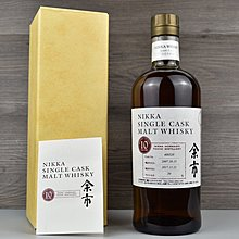 Nikka Whisky Yoichi 2007 Single Cask 余市2007年 單桶 日本威士忌