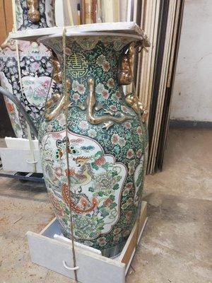 古董花瓶 110x55 cm