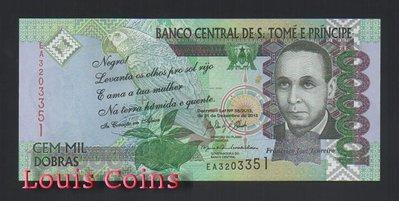 【Louis Coins】B645-Sao Tome and Principe--2013聖多美普林西比紙幣