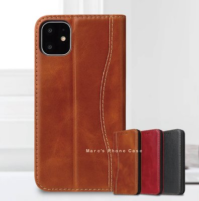 IPhone 12 Pro Max 12 Mini 真皮 翻蓋 皮套 插卡 卡夾 皮夾 手機套 手機殼 保護殼