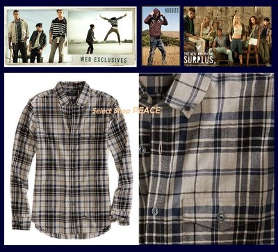 American Eagle 美國【現貨】L號 長袖 襯衫 AE Epic Flannel