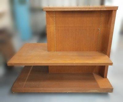 台中宏品二手家具 中古傢俱賣場 D032423*木紋鞋子展示櫃 展示架 櫃檯 *便宜家二手家具拍賣 冷氣空調 冰箱電視