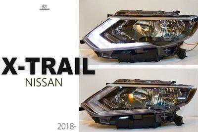 小傑車燈精品--全新 NISSAN X-TRAIL X TRAIL 2018 19 年 原廠型 無HID版 大燈 單顆