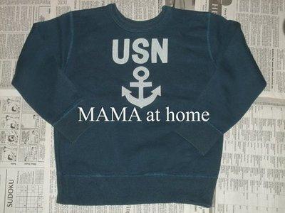 特價商品・H-51/USED<日本Stores USA 水兵領柄長袖T恤>120cm