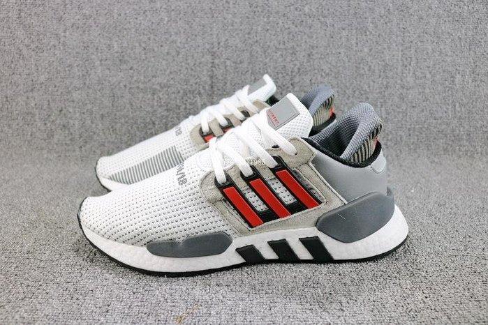 Adidas EQT Support91/18 白紅 經典 百搭 休閒運動慢跑鞋 男女鞋 B37521