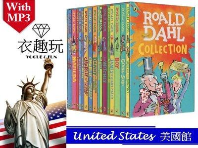 【新版現貨】英文版 Roald Dahl copies collection 16冊收藏繪本 (送mp3)