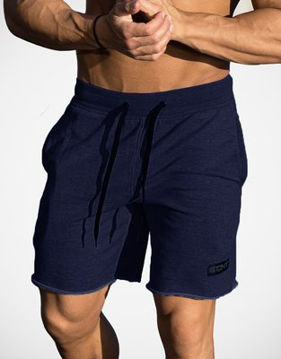 肌肉運動兄弟ECHT Repel Raw男士戶外休閒健身五分褲純色透氣短褲