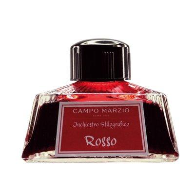 【上品名筆工藝坊】義大利 Campo Marzio(紅色 Rosso)大容量80ml 鋼筆墨水,共10色(內有優惠方案)