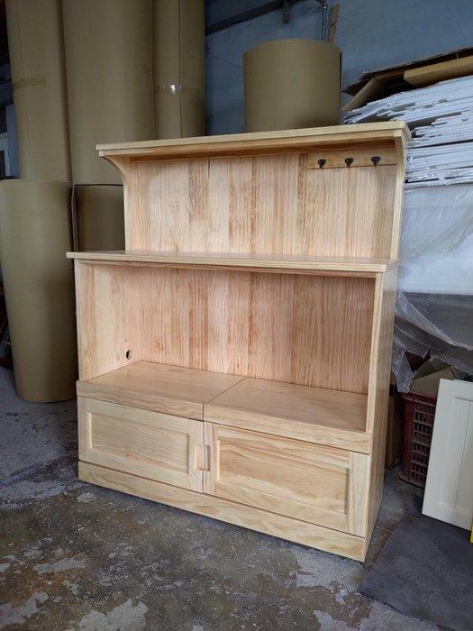 戀戀小木屋 簡約款電器櫃  餐櫃  原木餐櫃