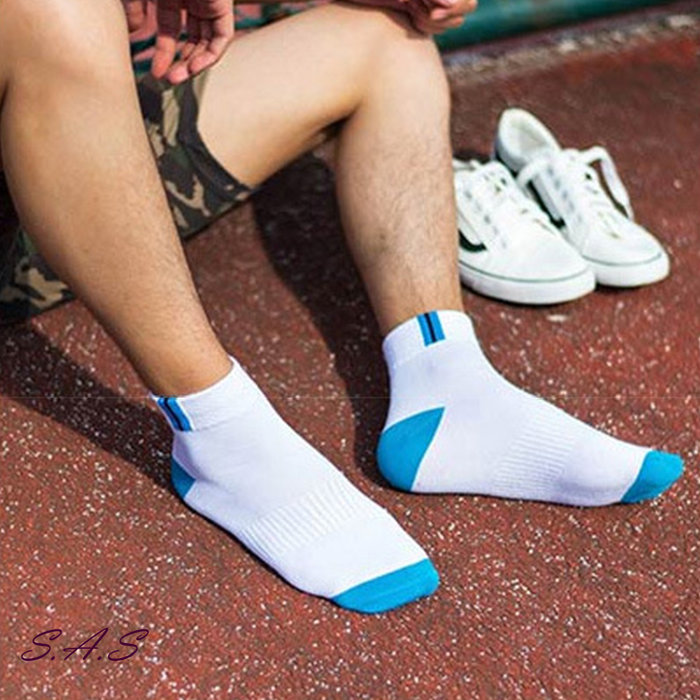 SAS 運動中筒襪 男款襪子 運動襪加厚棉質 防臭吸汗透氣 籃球中筒襪子 襪子 男襪 男女襪 運動襪 襪子【1350R】