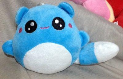 全新藍色松鼠浣熊