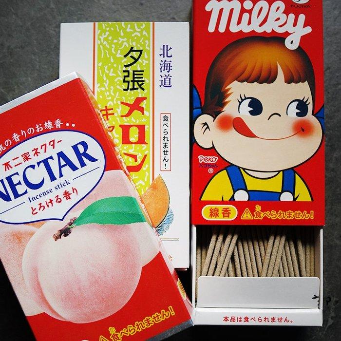 郭公館-日本製明治牛奶糖水蜜糖哈密瓜口味線香