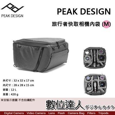 【數位達人】PEAK DESIGN 旅行者 快取 相機 內袋 (M) 相機包 攝影包 防潑水 閃燈 收納包 單眼
