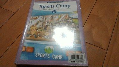 Step ahead english 何嘉仁菁英美語 Sports camp 故事讀本6句型.發音(全新)4本