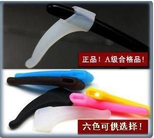 眼鏡防滑套 矽膠 套在眼鏡腳尾部 運動時跑步 游泳 踢球 跳舞 騎車 旅行 防眼鏡滑落2對$23