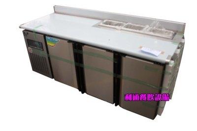 《利通餐飲設備》(瑞興)尺6工作台冰箱 6尺全冷藏工作台冰箱 6尺沙拉冰箱工作台 3門調理冰箱