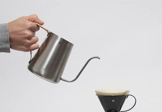 日本製 tsubame 燕子系列 不鏽鋼 藤系列 手沖壺 咖啡壺 500ml