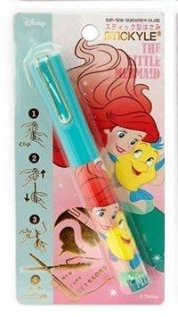 【三元】日本進口 Disney 迪士尼 隨身迷你筆型剪刀 收納剪刀 攜帶式剪刀_現貨 小美人魚