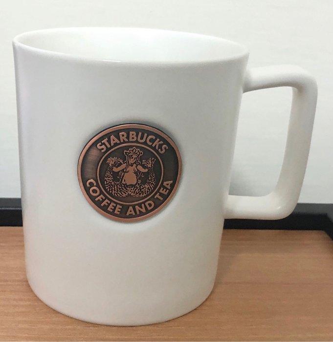 Starbucks 白復古女神馬克杯—16oz