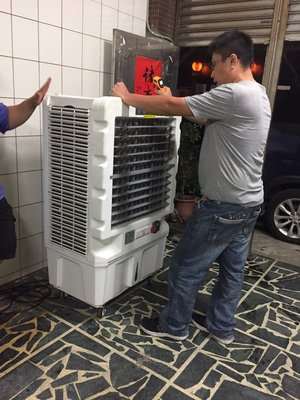 MIT ICE-2 24吋冰晶水冷扇 工業用 更大更涼爽 冰晶水冷扇-(塑鋼葉片)ICE-2 工廠最愛
