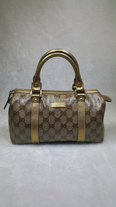 **旺角名店* Gucci 金色手提包 小波士頓包 特價12800