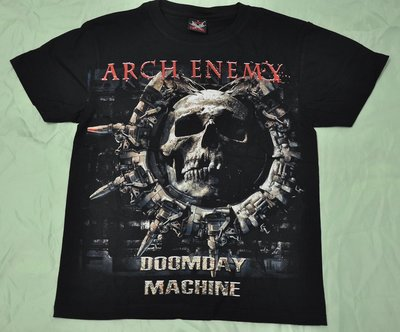 【Mr.17】Arch Enemy 邪神大敵樂團 Doomsday 進口搖滾短袖T恤 T-SHIRT (H107)