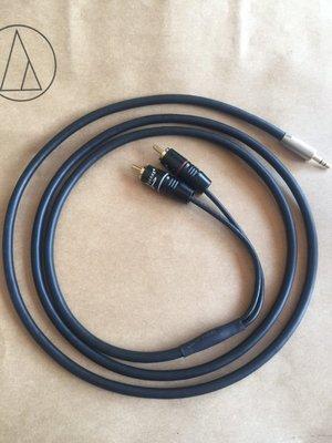 [冠均科技音響] ROSA 特製版 3.5mm to RCA 立體聲訊號線