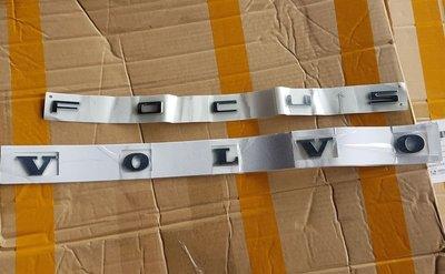Focus MK4 行李箱 Focus 鍍鉻 字體 車標 【正台灣福特料件】