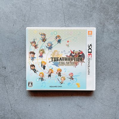 平常小姐┋2手┋3DS遊戲《Final Fantasy 節奏劇場》純日版 太空戰士