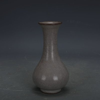㊣姥姥的寶藏㊣ 南宋官窯手工瓷豬毛孔冰裂釉淨瓶  出土古瓷器古玩古董收藏品
