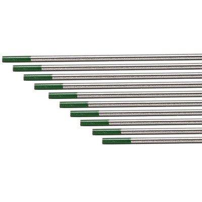 【德國BINZEL】WP 100%純鎢棒 AC適用 (綠頭3.2mm / 長度175mm)